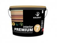 Краска латексная Kolorit Interior Premium 7(9л)