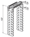 П-образный кронштейн 170мм