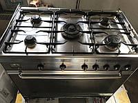 Smeg газовая плита на 5 конфорок с газовой духовкой, фото 1
