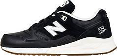 Женские кроссовки New Balance 530 Black/White M530ATB, Нью беланс 530