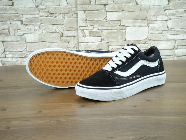 Vans Pld Skool Black White