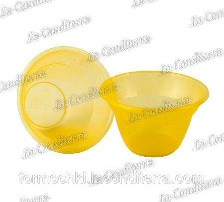 Оранжевая пластиковая креманка «Rene» 140400 (300 мл)