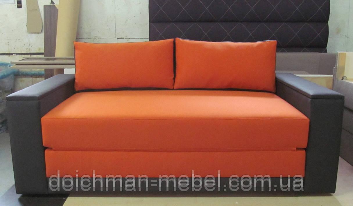 Современный яркий диван раскладной на пружинном блоке