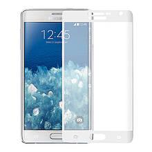 Защитное стекло Optima 3D 9H на весь экран для Samsung Galaxy Note Edge N915 белый
