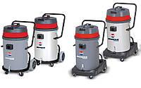 Профессиональный пылесос для сухой и влажной уборки  Biemmedue SP&SM 80 с опрокидывающимся корпусом (80л)