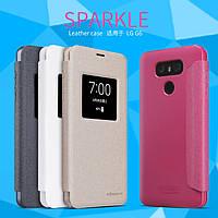 Кожаный чехол Nillkin Sparkle для LG G6 (4 цвета)