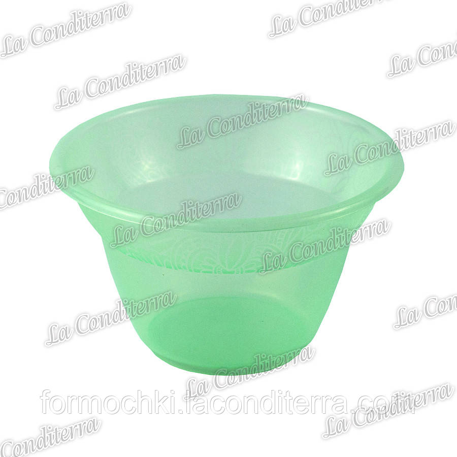 Зелена пластикова креманка «Rene» 140400 (300 мл)