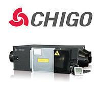 Приточно-вытяжная установка с рекуператором QR-X06D Chigo, 600 м.куб.