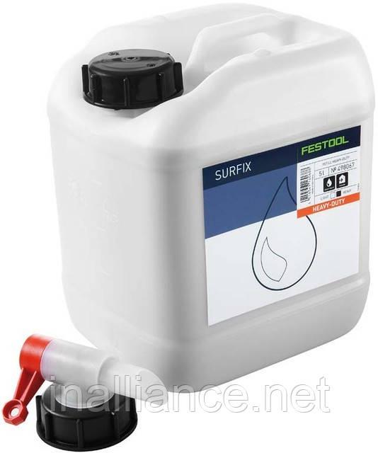 Масло для паркета, ступеней, столешниц, натуральное RF HD 5 литров, Festool 498067