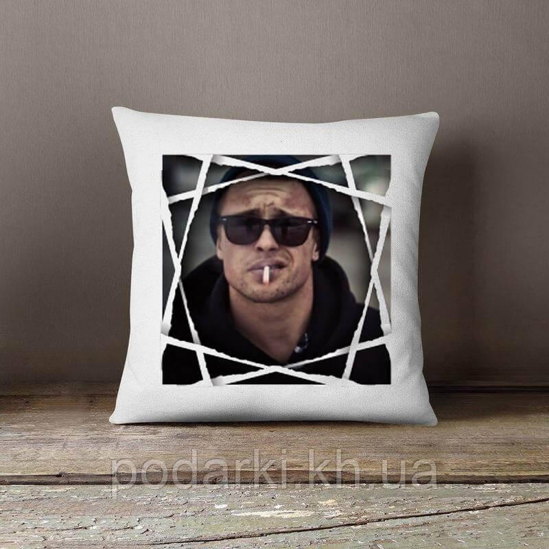 Подушка с фото для мужчины