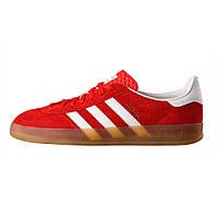 Кроссовки мужские Adidas Gazelle Indoor Red, адидас газель индор