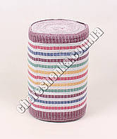 Ткань для полотенец на вишневой основе (50м)