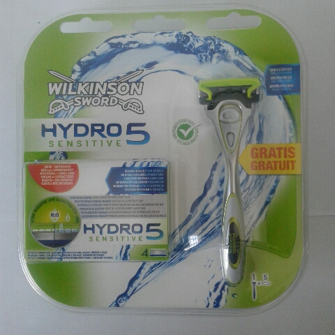Набір для гоління чоловічий Wilkinson Sword Hydro 5 (Шик Вілкінсон верстат + 5 картриджів) пр-во Німеччина