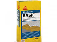 SikaCeram-BASIC- Высококачественный клей для плитки на цементной основе, 25 кг.