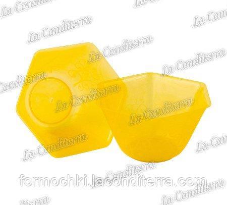 Оранжевая пластиковая креманка «Backino» 020500 (300 мл)