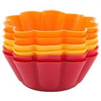 Набор форм для выпечки кексов Dainty 6,5x6,5x3 см, 6 шт Krauff 26-184-033
