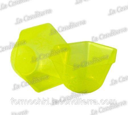 Желтая пластиковая креманка «Backino» 020500 (300 мл)