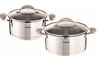 Набор посуды Tefal E831S414 Inspiration (4 предмета) нержавеющая сталь