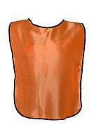 Манишка тренировочная односторонняя на резинках XL