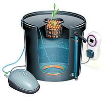 Гидропонная система DWC 3pot 80мм