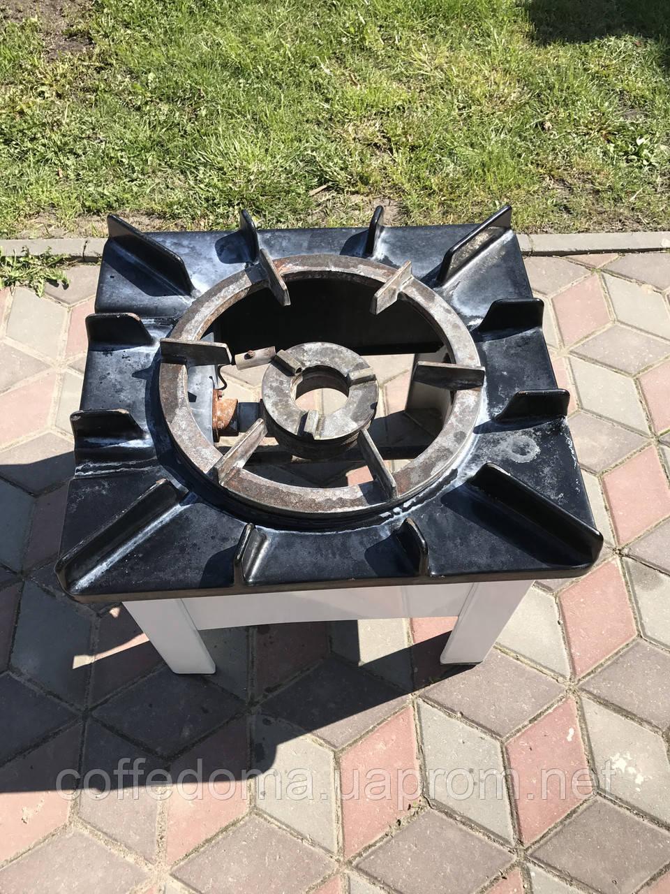WOK профессиональная газовая плита с турбо конфоркой ВОК