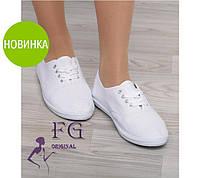 Модные женские мокасины на шнурке
