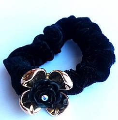 Бархатная резинка для волос, цветочек в упаковке 36 шт. ассорти