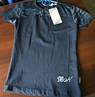Блуза-футболка нарядная для девочки школьная