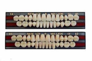 Зубы акриловые,пластмассовые