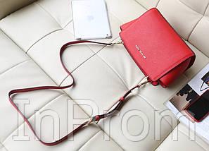 Сумка Michael Kors Selma Messenger Red, фото 3