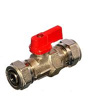 SD Forte кран шаровый для металлопластиковых труб 16 обж(ц) х 16 обж(ц)