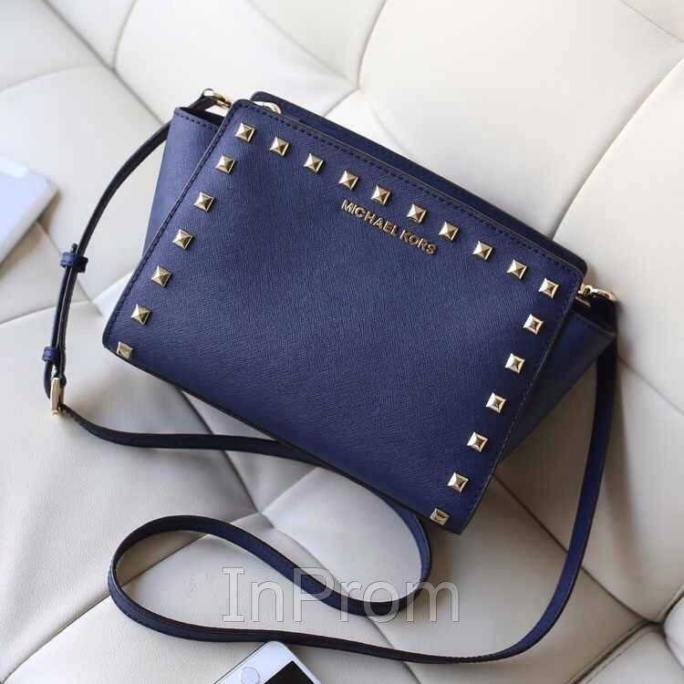 Сумка Michael Kors Selma Mini Blue