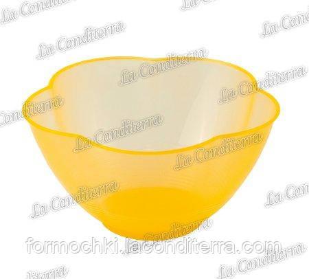 Оранжевая пластиковая креманка «Golosa» 010500 (300 мл)