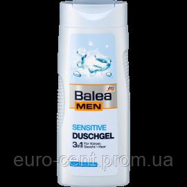 Мужской гель для душа 3 в 1  для чувствительной кожи  Balea Men Duschgel Sensitive
