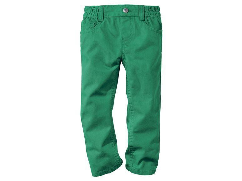 Зеленые штаны для мальчика Lupilu Германия р.110
