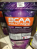 Аминокислота OstroVit  Anticat BCAA + L-Glutamine 1000 gram