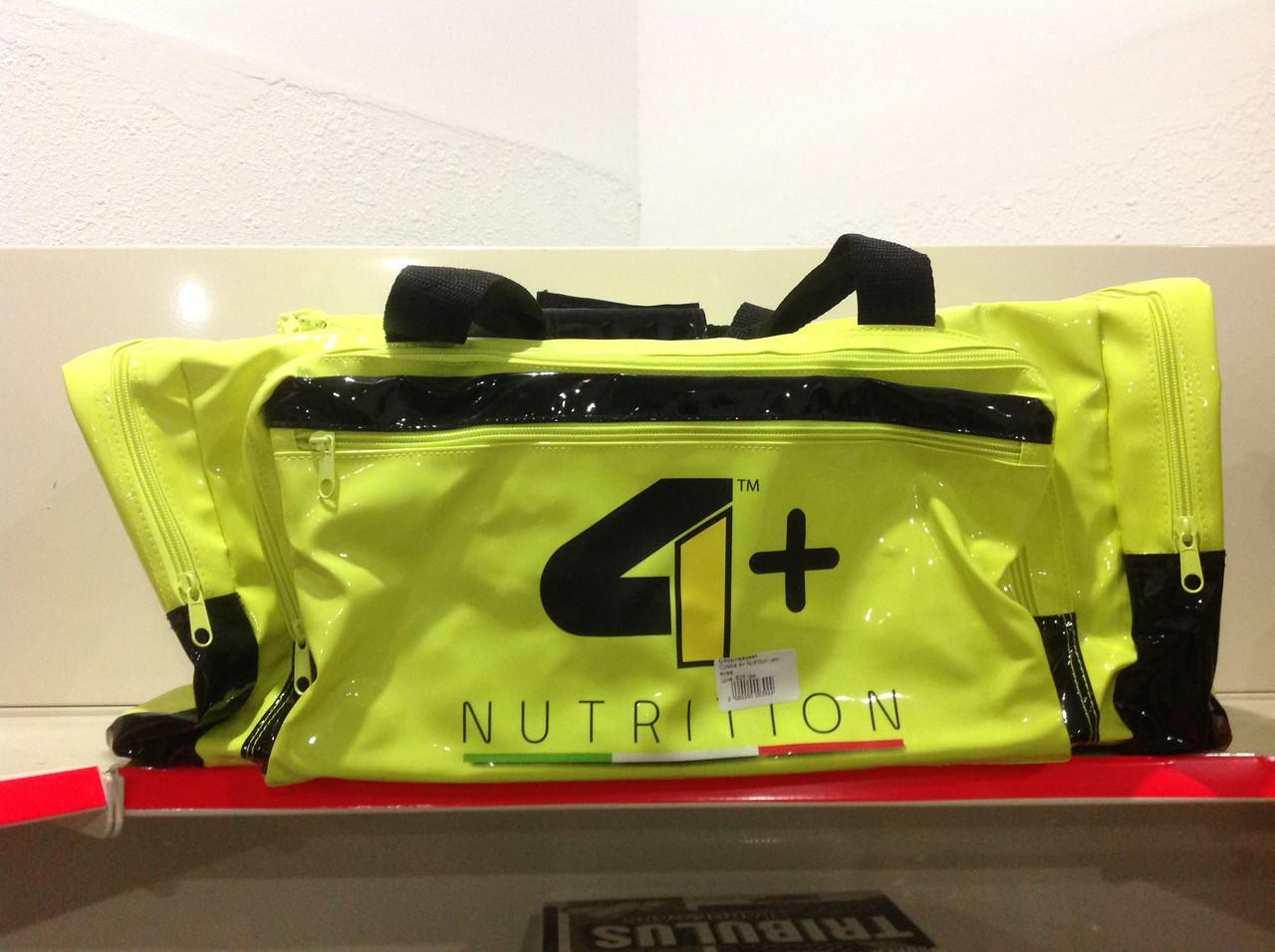 Сумка 4+ Nutrition зеленая - Спортивный маркет №1 в Украине! в Киеве