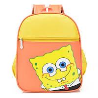 Детский желтый рюкзак Спанч Боб