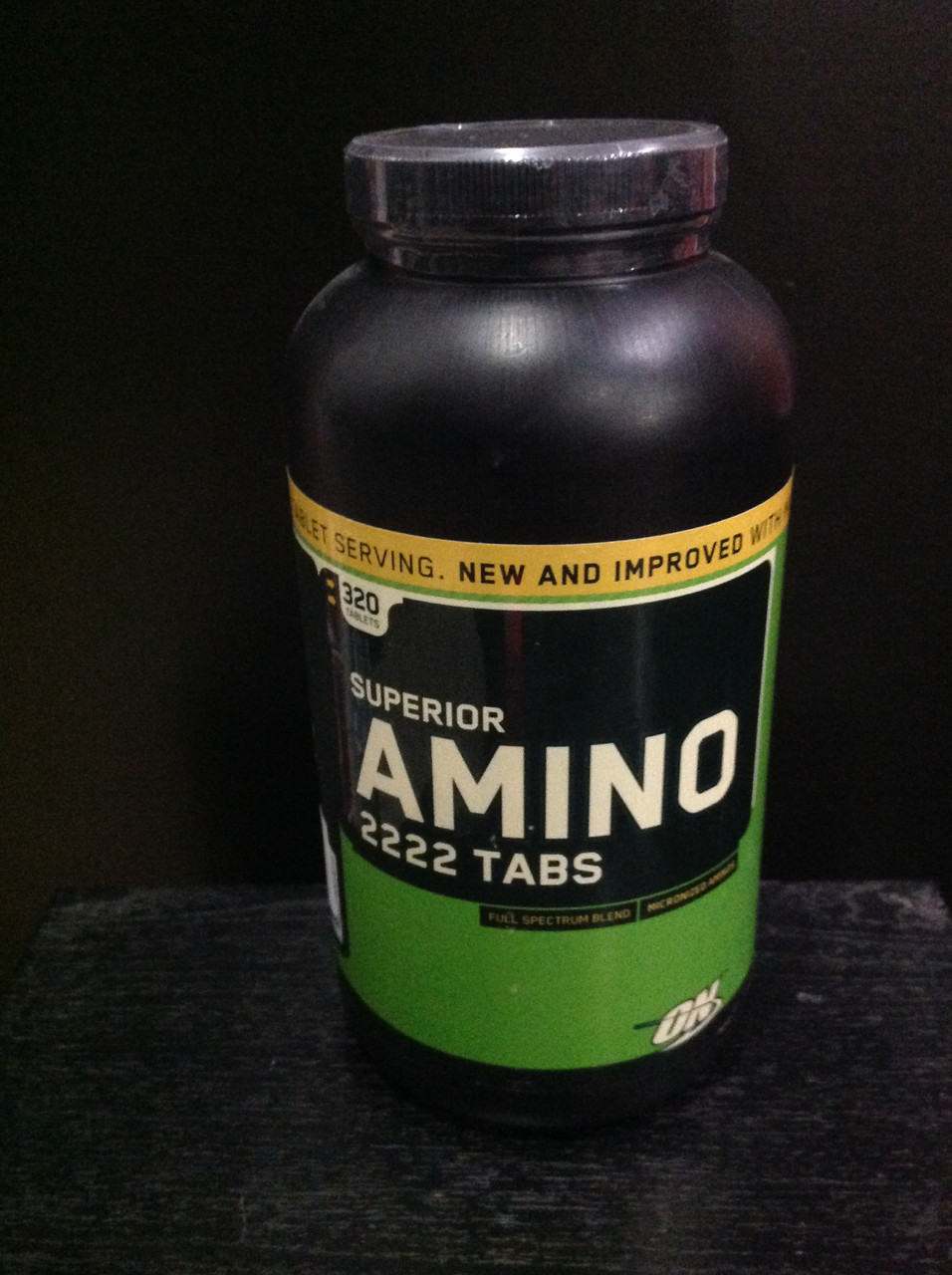 Optimum Nutrition Amino 2222 320 Tab On Tabs