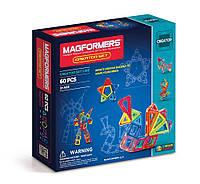 Магнитный конструктор Создатель, 60 элементов, серия Фантазер, Magformers