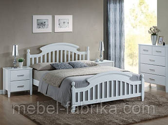 Кровать деревянная Lizbona Signal 140х200 /Ліжко дерев'яне Lizbona Singal 140*200