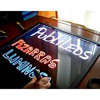 Светодиодная Флеш Доска-LED доска 50 x 70 см