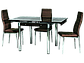 """Стол раскладной стеклянный """"GD-082"""" Signal, фото 10"""