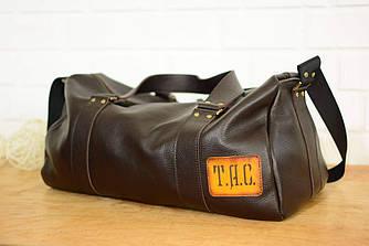 Именная спортивная сумка «Travel» |10150| Люксор | Коричневый