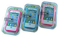 """Пластиковый бампер """"LFszlf"""" для Iphone 4/4S"""