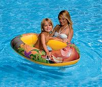 """Детская надувная лодка """"Король лев"""" Intex 58385"""
