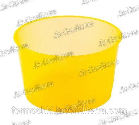 Оранжевая пластиковая креманка «Hillary» H300-1 (250 мл)