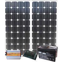 Автономная солнечная электростанция 500 Вт