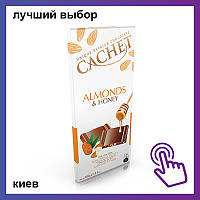 Шоколад Cachet Almonds & honey Миндаль и мед