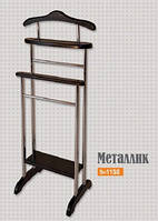 Вешалка напольная для одежды Металлик (Юта) h 1150
